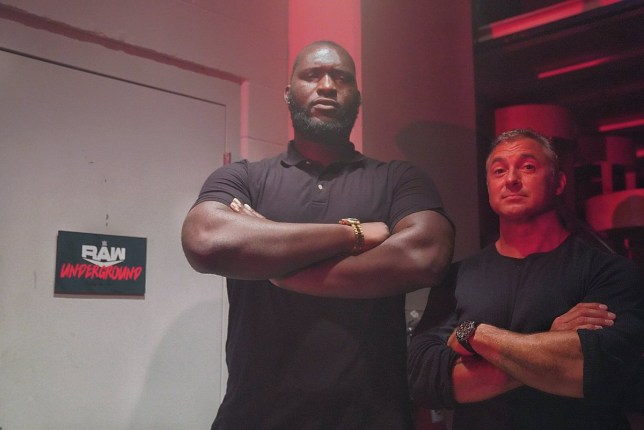 Who is Jordan Omogbehin? WWE's 7ft 3in Raw Underground bouncer | Metro News