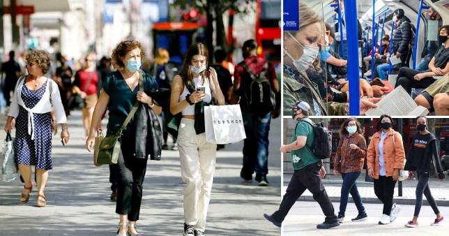 London is 'just two weeks behind' parts of UK under local lockdown