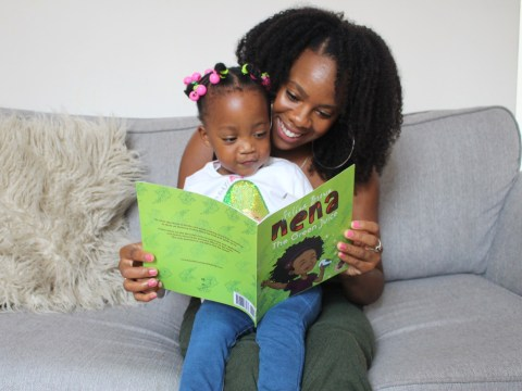 Worried mum writes kid's book to encourage Black children to eat more healthily