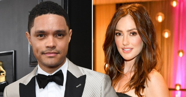 The Daily Show's Trevor Noah has been 'dating' Minka Kelly for 'months'