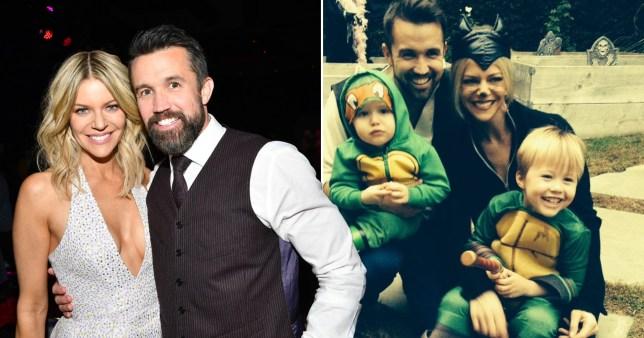 Kaitlin Olson and Rob McElhenney celebrate son's birthday