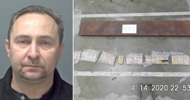 Lorry driver Dariusz Urban was jailed for 12 years after heroin was found inside a crisps delivery.