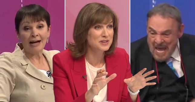 Fiona Bruce regrets not shutting down LOTR star John Rhys-Davies over Caroline Lucas remark on QT