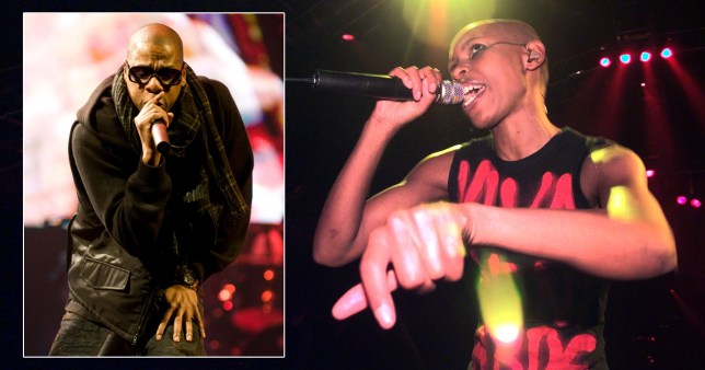 Skin of Skunk Anansie and Jay Z