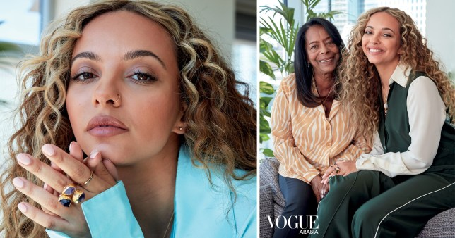 Jade Thirlwall in Vogue shoot with her mother.
