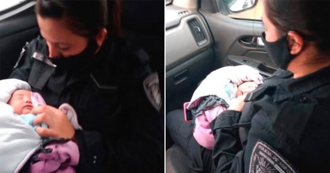 Un nouveau-né retrouvé abandonné dans un sac en plastique avec un couteau dans le dos