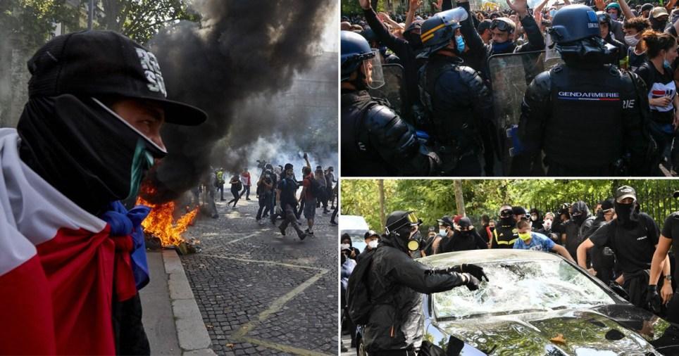 Les manifestants gilets jaunes sont rentrés à Paris samedi