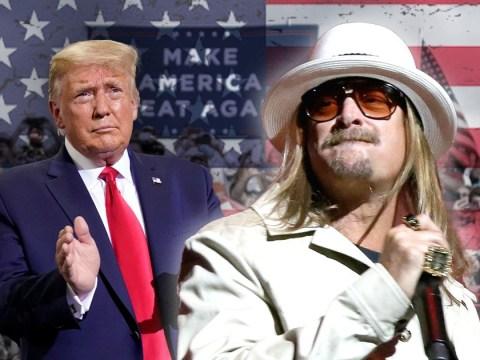 Kid Rock to headline Donald Trump rally in Michigan tonight after praising president as 'great man'