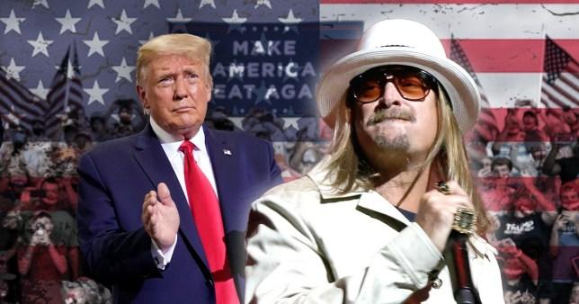 Kid Rock To Join Donald Trump Rally In Michigan Tonight Metro News