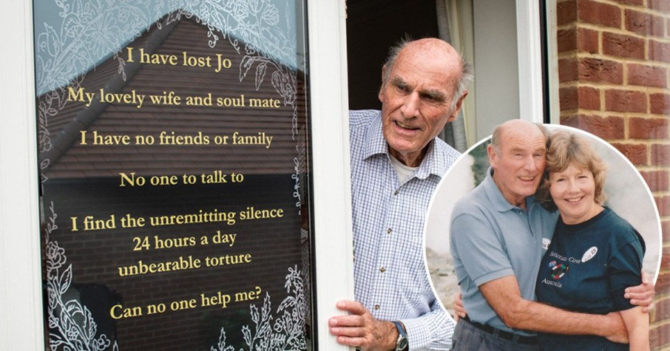 A lonely pensioner who made an emotional plea to find friends after the death of his wife has received an outpouring of support from kind-hearted strangers across the world.