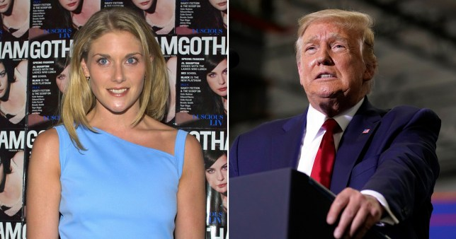 Picture of Amy Dorris and Donald Trump