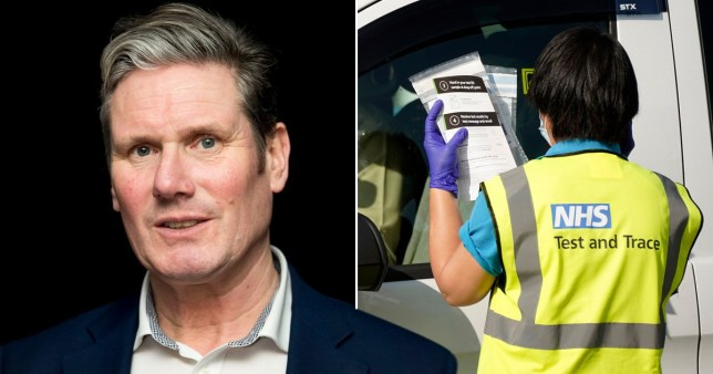 Labour leader Sir Keir Starmer says Boris Johnson is not up to the job as he offers to help No 10 put together a Covid-19 plan to save Christmas.