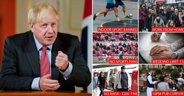 Boris addresses nation