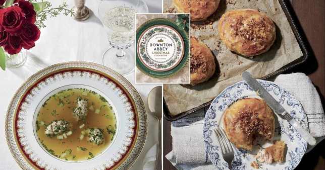 food in downton abbey cookbook