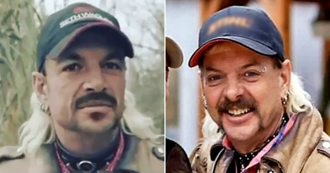 Peter Andre and Tiger King's Joe Exotic