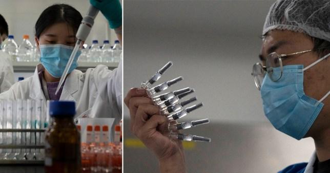 Des centaines de milliers de personnes en Chine ont reçu un vaccin Covid-19 qui a été approuvé pour une utilisation d'urgence - malgré les inquiétudes