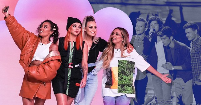 Little Mix The Search viewers spot One Direction references during first episode