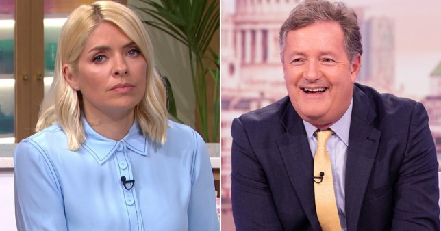 Holly Willoughby was told Piers Morgan was dead by pranksters