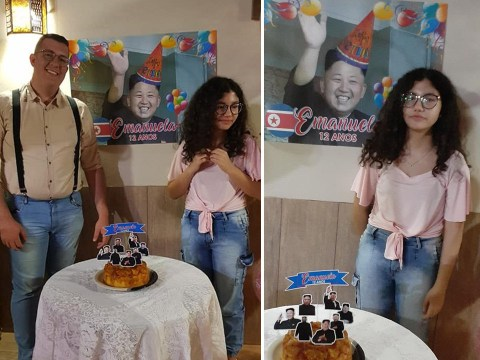 Brother clueless about K-pop throws little sister a Kim Jong-Un birthday party