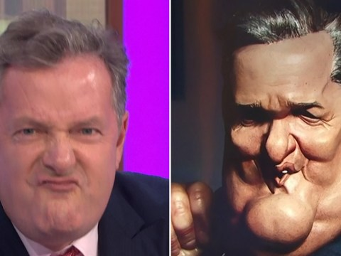 Piers Morgan unveils 'grotesque' Spitting Image puppet ahead of new series