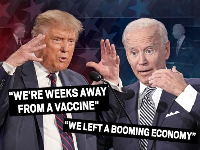 Biden Trump presidential debate fact check