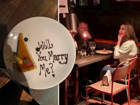 Man pranks his pal by sending 'will you marry me?' message on a first date
