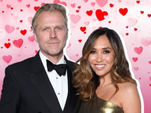 Myleene Klass 'speechless' as she gets engaged to partner Simon Motson after five years