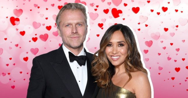 Myleene Klass and Simon Motson engaged