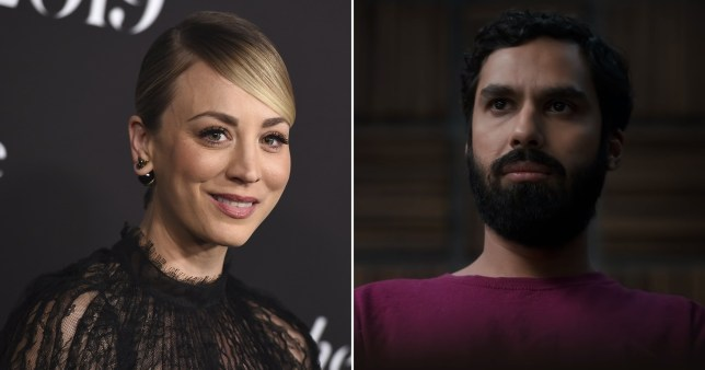 TBBT's Kaley Cuoco applauds Kunal Nayyar for Criminal