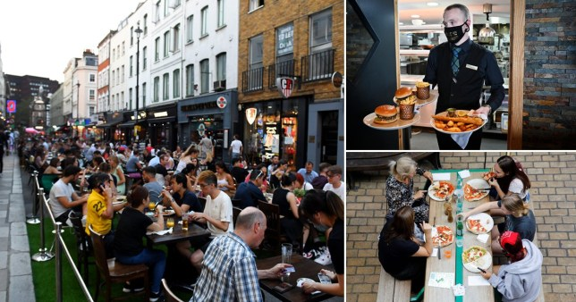 Brits ate 100,000,000 meals during Eat Out to Help Out AFP/Getty