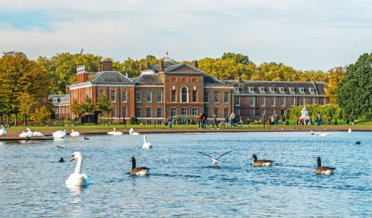 Police are still trying to identify the body found in the Round Pond at Kensington Palace.