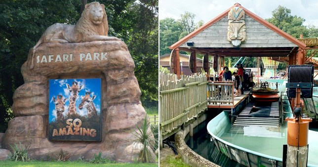 Family rescued from water after boat capsized on theme park ride