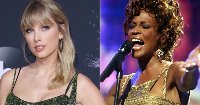 Taylor Swift Joins Whitney Houston With 46 Total Weeks at Number One on the Charts
