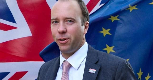 Matt Hancock 'comfortable' with UK breaking international law