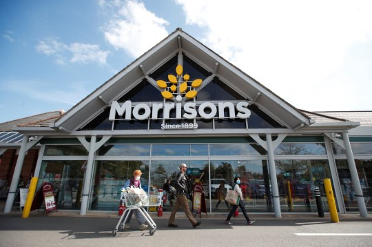 A Morrisons store is pictured in St Albans, Britain on September 10, 2020. REUTERS / Peter Cziborra