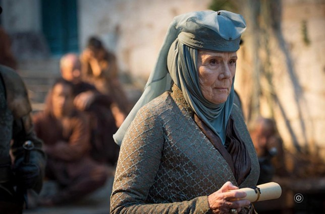 Picture: HBO Dame Diana Rigg dead An ode to Game Of Thrones icon Olenna Tyrell