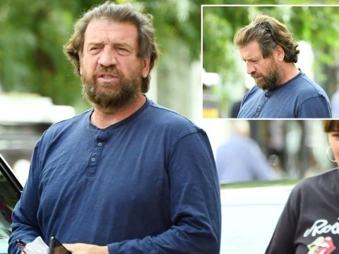 Nick Knowles sports huge beard as he heads out in London after raving about lockdown life