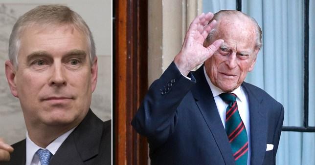 Prince Andrew 'airbrushed' from Duke of Edinburgh's 100th birthday celebrations