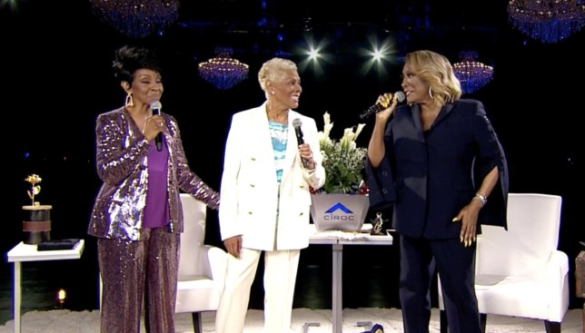 Gladys Knight vs Patti LaBelle Verzuz battle featuring Dionne Warwick