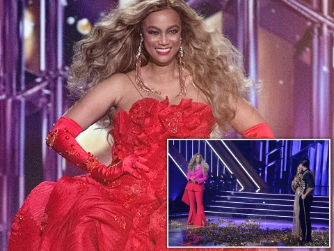 Tyra Banks brings all the glam for Dancing With The Stars hosting debut but leaves fans divided