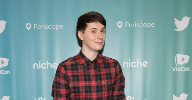 Dan Howell attends the 7th Annual VidCon at Anaheim Convention Center on June 24, 2016 in Anaheim, California
