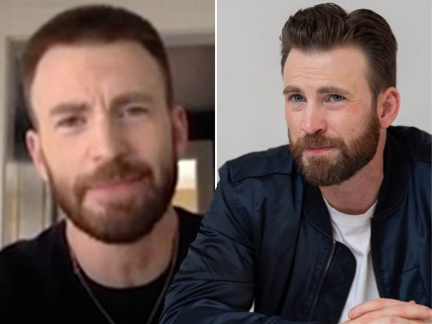 Chris Evans admits he feels 'embarrassed' following nude photo leak as he speaks out on social media mishap