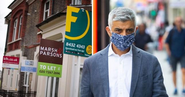 Freeze rents in London, says Sadiq Khan