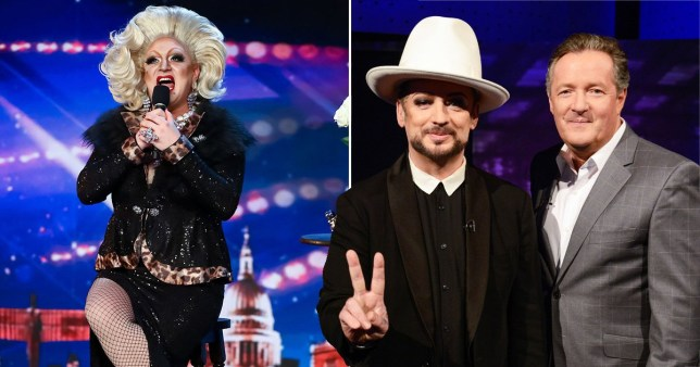 STRICTLY EMBARGOED, NO USE BEFORE 10am GMT 16th May 2020. Editorial use only. No book publishing. Mandatory Credit: Photo by Dymond/Thames/Syco/REX (10647757a) Myra Dubois 'Britain's Got Talent' TV Show, Series 14, Episode 6, UK - 16 May 2020