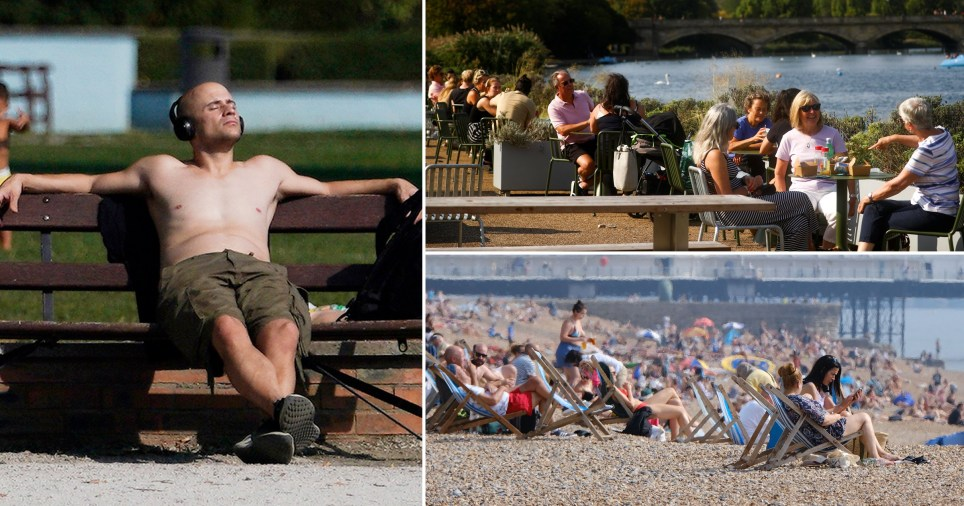 Heat thrust to see 26C Britain hotter than Barcelona over weekend