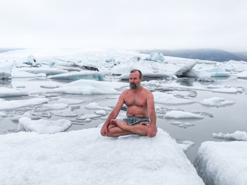 Why embracing the cold is life-changing, according to iceman Wim Hof