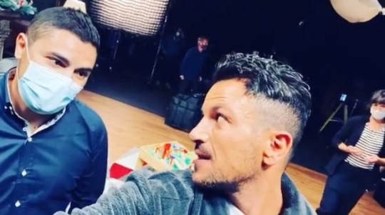 Peter Andre confesses he's in the dog house after Emily bedding his double joke
