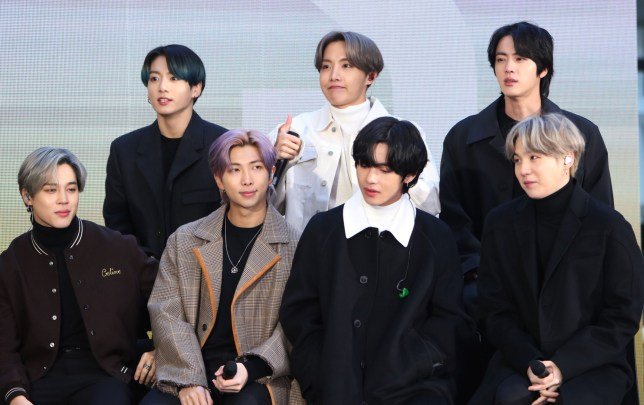 BTS on the Today TV Show