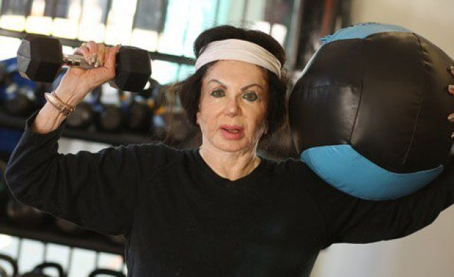 officialjackiestallone I?m staying fit, I am studying the accordion daily, I think I know as much as my teacher does ???. #quarantinelife #quarantine #besafe #staycalm #stallone #jackiestallone #sylvesterstallone #sly #rambo #rocky #mammastallone #queenofhollywood #bodybuilding #accordion #liftingweights