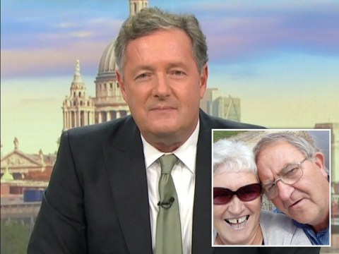 Good Morning Britain viewers celebrate as OAP couple who literally broke the internet shut down Piers Morgan for talking over Susanna Reid